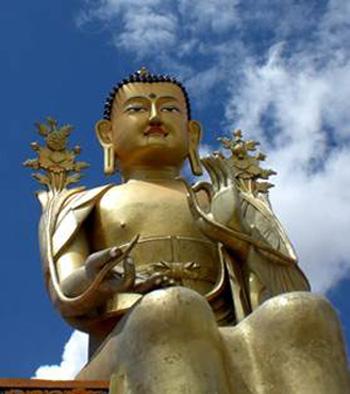 Грядуший Будда Майтрейя.