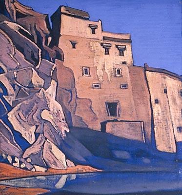 Н.К. Рерих. Пруд Иссы. Лех. 1925-1926