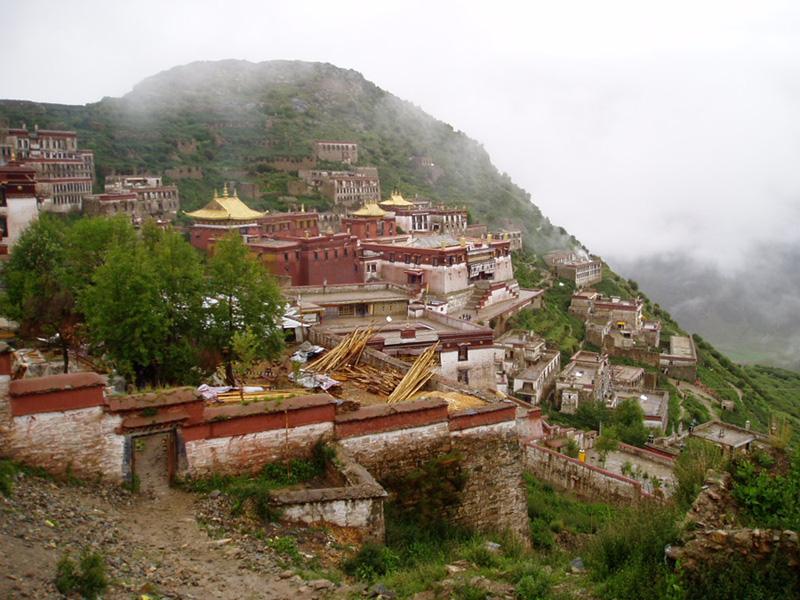 Монастырь Галдан. Тибет.