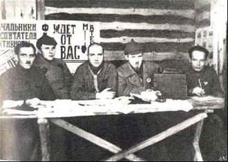 Лагерное начальство - освободители заключенных