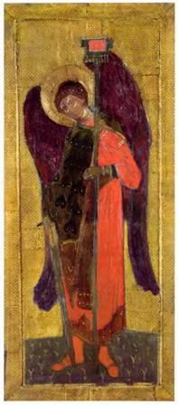 Н.К.Рерих. Архангел Михаил. 1907.