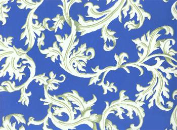 Орнамент из листьев аканта