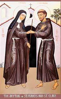Святой Франциск и Святая Клара