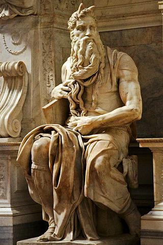 Микеланджело Буонарроти. Моисей. 1513-1515. Рим