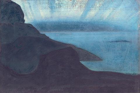 Н.К.Рерих. Монхеган. (Сияние ночи?). Сюита «Океан». 1922