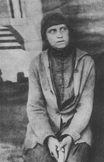 Заключенная Свирлага,  1932 год.