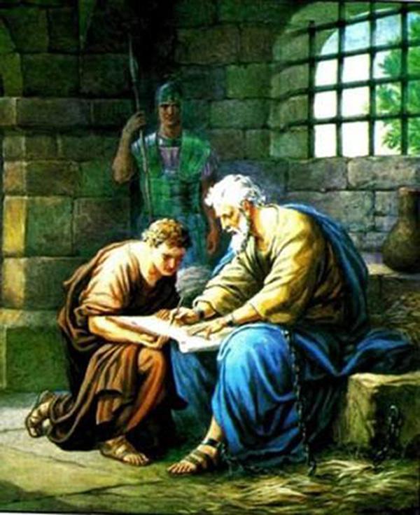 Апостол Павел и Тимофей.