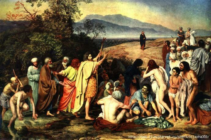 А. Иванов. Явление Христа народу