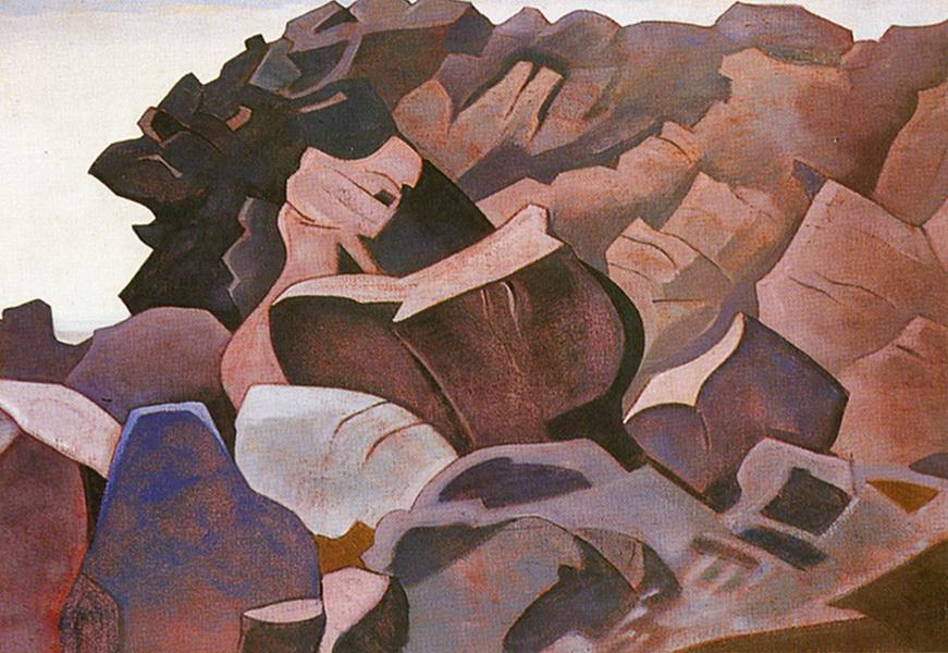 Н.К.Рерих. Монхеган. (Борьба?). Сюита «Океан». 1922