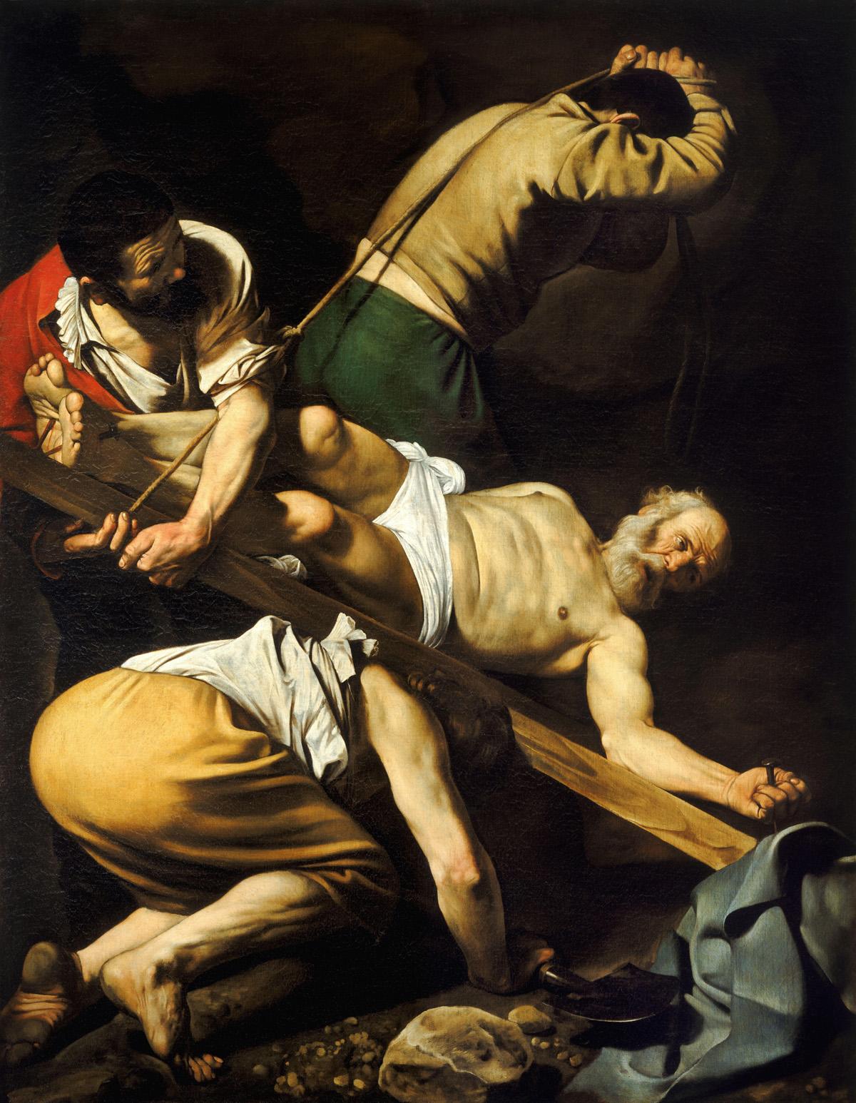 Караваджо (1571-1660). Распятие Петра