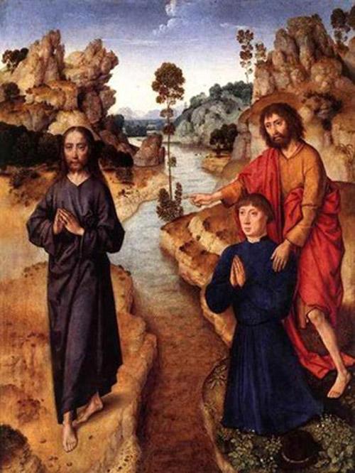 Дирк Баутс (1415-1475). Агнец Божий.