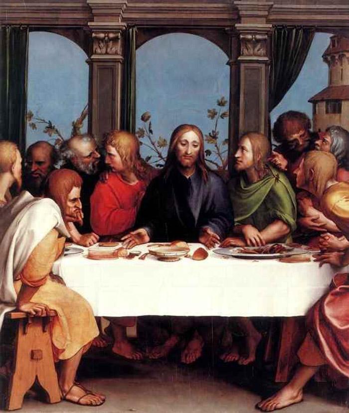 Ганс Гольбейн (1497-1543).Тайная Вечеря.