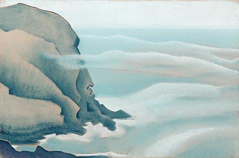 Н.К.Рерих. Монхеган. (Сила?). Сюита «Океан». 1922