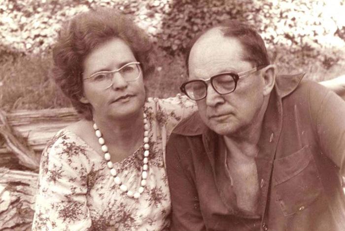 П.А. Ган.  с  М.Г.  Моисеевой. 1991год.