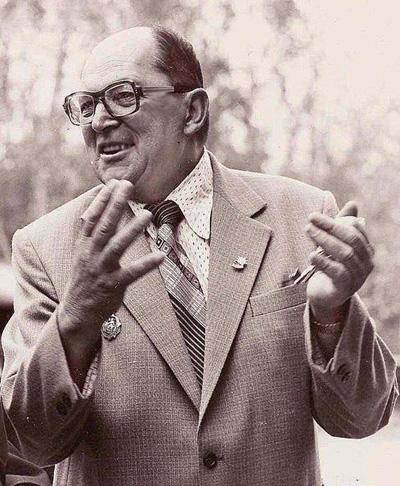 П.А. Ган в начале 1980-х