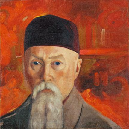 С.Н.Рерих. Портрет Н.К.Рериха. 1930–1940-е