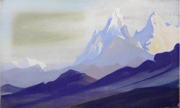 Н.К. Рерих. Гималаи. 1940