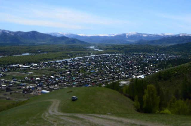 Поселок Усть Кокса