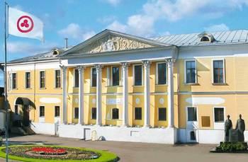 Усадьба Лопухиных, в которой располагался Музей имени Н.К.Рериха
