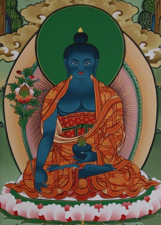 Манла - Будда медицины, (тиб. sman bla)