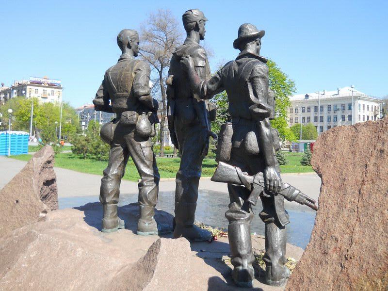 Памятник запорожцам