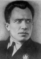 Командир десантного отряда А. Т. Ворожилов