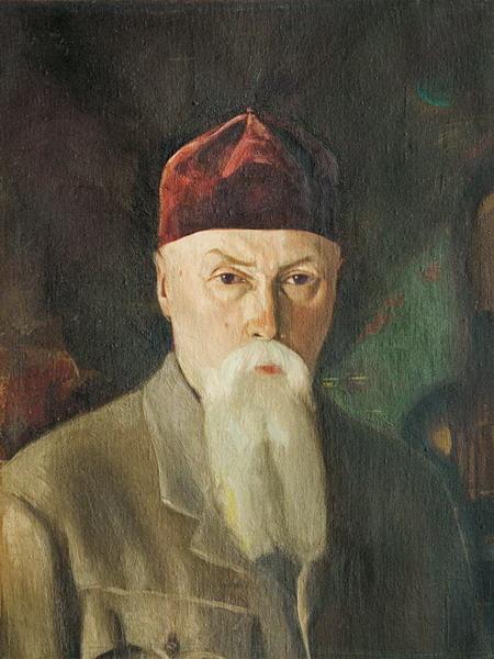 С.Н.Рерих. Портрет Н.К. Рериха. 1930–1940–е