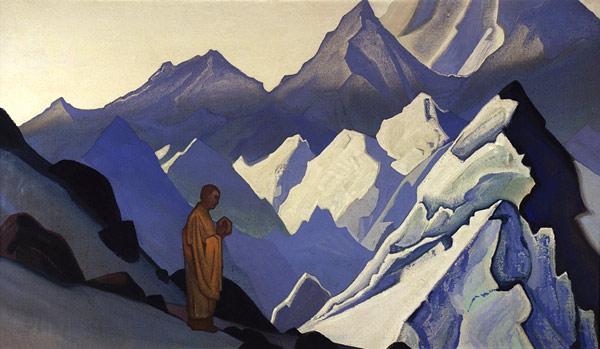 Н.К.Рерих. Утренняя молитва