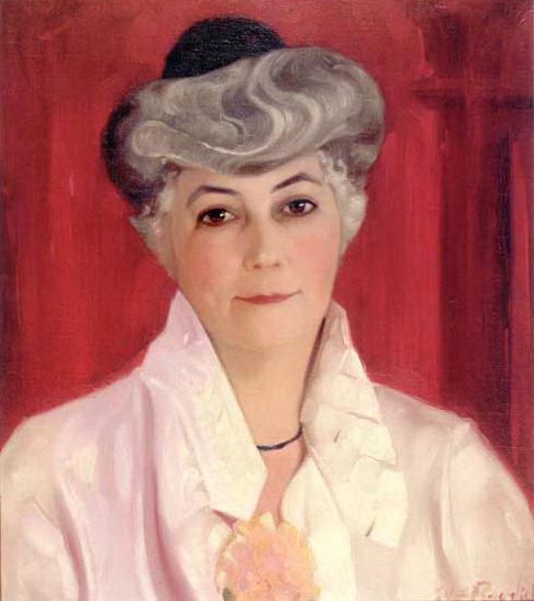 С.Н. Рерих. Портрет Елены Ивановны Рерих. 1931
