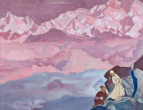 Н.К. Рерих. Ведущая. 1924