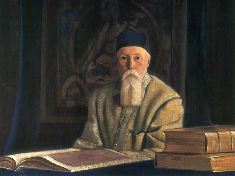 С.Н. Рерих. Портрет академика Н.К. Рериха, 1937 г.