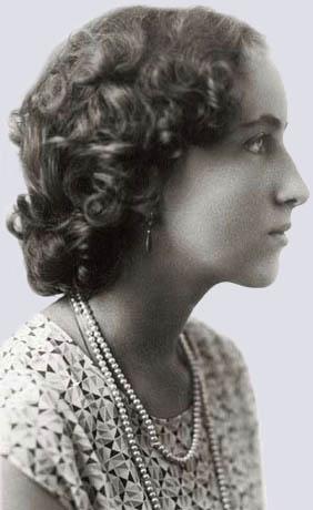 Наталия Дмитриевна Спирина. 1930-е. Харбин