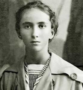 Наталия Спирина в юности.
