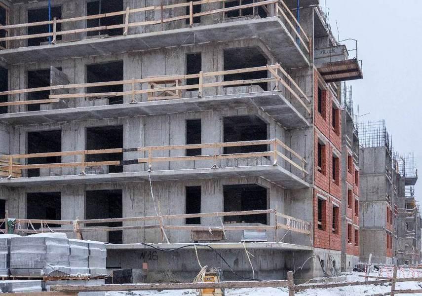 Начавшаяся стройка ЖК «Планетоград». Фото: novostroy.su