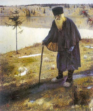 М.В.Нестеров. Пустынник