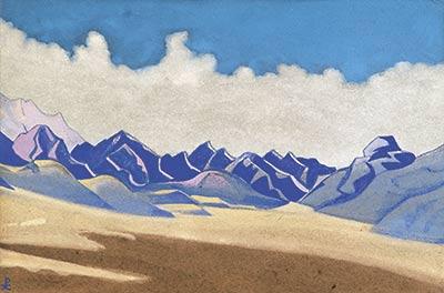 Н.К. Рерих. Каракорум. Путь на Туркестан. 1936