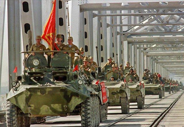 Вывод Советских войск из Афганистана в15 февраля 1989