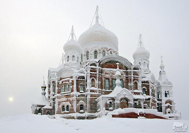 Белогорский монастырь. Кунгур. Пермский край. Фото Захарова.